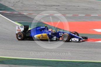World © Octane Photographic Ltd. Sauber F1 Team C35 – Felipe Nasr. Friday 13th May 2016, F1 Spanish GP - Practice 2, Circuit de Barcelona Catalunya, Spain. Digital Ref : 1539CB1D8050