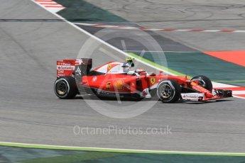 World © Octane Photographic Ltd. Scuderia Ferrari SF16-H – Kimi Raikkonen. Friday 13th May 2016, F1 Spanish GP - Practice 2, Circuit de Barcelona Catalunya, Spain. Digital Ref : 1539CB1D8079