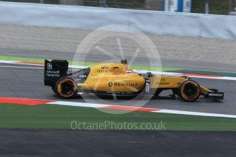 World © Octane Photographic Ltd. Renault Sport F1 Team RS16 - Kevin Magnussen. Friday 13th May 2016, F1 Spanish GP - Practice 2, Circuit de Barcelona Catalunya, Spain. Digital Ref : 1539CB1D8377