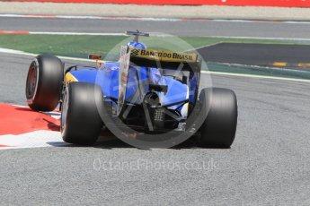 World © Octane Photographic Ltd. Sauber F1 Team C35 – Felipe Nasr. Friday 13th May 2016, F1 Spanish GP Practice 2, Circuit de Barcelona Catalunya, Spain. Digital Ref : 1539CB1D8583