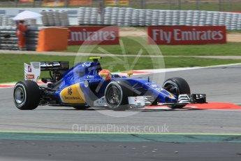 World © Octane Photographic Ltd. Sauber F1 Team C35 – Felipe Nasr. Friday 13th May 2016, F1 Spanish GP Practice 2, Circuit de Barcelona Catalunya, Spain. Digital Ref : 1539CB1D8650
