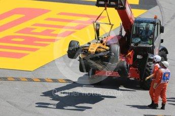 World © Octane Photographic Ltd. Renault Sport F1 Team RS16 – Jolyon Palmer. Friday 13th May 2016, F1 Spanish GP Practice 2, Circuit de Barcelona Catalunya, Spain. Digital Ref : 1539LB1D5128