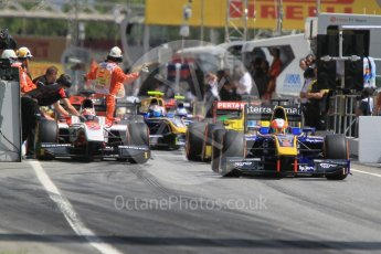 World © Octane Photographic Ltd. DAMS - GP2/11 – Alex Lynn. Friday 13th May 2016, GP2 Practice, Circuit de Barcelona Catalunya, Spain. Digital Ref :1538CB1D7942