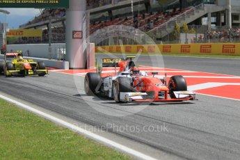 World © Octane Photographic Ltd. MP Motorsport - GP2/11 – Daniel de Jong. Friday 13th May 2016, GP2 Practice, Circuit de Barcelona Catalunya, Spain. Digital Ref :1538CB1D7984