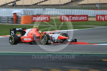 World © Octane Photographic Ltd. Arden International - GP2/11 – Jimmy Eriksson. Friday 13th May 2016, GP2 Qualifying, Circuit de Barcelona Catalunya, Spain. Digital Ref :1541CB1D8803