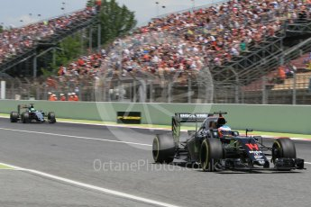 World © Octane Photographic Ltd. McLaren Honda MP4-31 – Fernando Alonso. Saturday 14th May 2016, F1 Spanish GP - Qualifying, Circuit de Barcelona Catalunya, Spain. Digital Ref : 1546CB1D9805