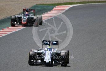 World © Octane Photographic Ltd. Williams Martini Racing, Williams Mercedes FW38 – Felipe Massa. Saturday 14th May 2016, F1 Spanish GP - Qualifying, Circuit de Barcelona Catalunya, Spain. Digital Ref : 1546CB7D7629