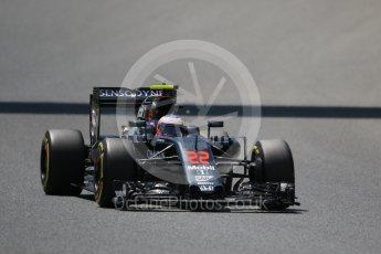 World © Octane Photographic Ltd. McLaren Honda MP4-31 – Jenson Button. Saturday 14th May 2016, F1 Spanish GP - Qualifying, Circuit de Barcelona Catalunya, Spain. Digital Ref : 1546CB7D7704