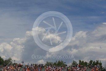 World © Octane Photographic Ltd. Fans. Saturday 14th May 2016, F1 Spanish GP - Qualifying, Circuit de Barcelona Catalunya, Spain. Digital Ref : 1546LB1D6953