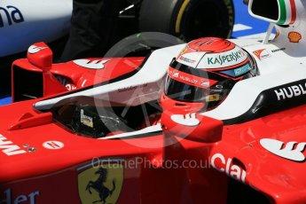 World © Octane Photographic Ltd. Scuderia Ferrari SF16-H – Kimi Raikkonen. Saturday 14th May 2016, F1 Spanish GP - Qualifying, Circuit de Barcelona Catalunya, Spain. Digital Ref : 1546LB1D7002