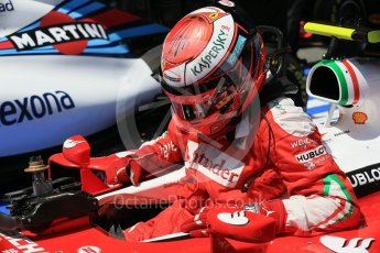 World © Octane Photographic Ltd. Scuderia Ferrari SF16-H – Kimi Raikkonen. Saturday 14th May 2016, F1 Spanish GP - Qualifying, Circuit de Barcelona Catalunya, Spain. Digital Ref : 1546LB1D7013