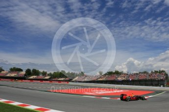 World © Octane Photographic Ltd. Red Bull Racing RB12 – Max Verstappen. Saturday 14th May 2016, F1 Spanish GP - Qualifying, Circuit de Barcelona Catalunya, Spain. Digital Ref : 1546LB5D4180