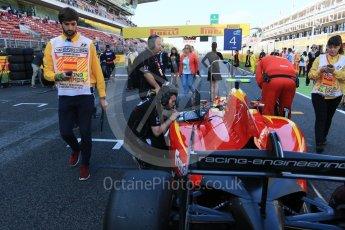 World © Octane Photographic Ltd. Racing Engineering - GP2/11 – Jordan King. Sunday 15th May 2016, GP2 Race 2, Circuit de Barcelona Catalunya, Spain. Digital Ref :1551CB7D8112