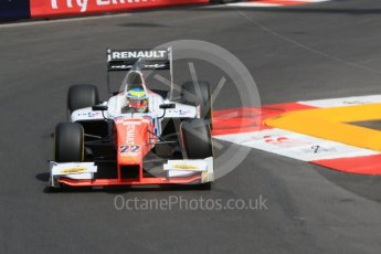 World © Octane Photographic Ltd. MP Motorsport - GP2/11 – Oliver Rowland. Thursday 26th May 2016, GP2 Practice, Monaco, Monte Carlo. Digital Ref : 1558CB7D0916
