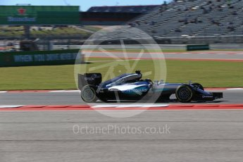 World © Octane Photographic Ltd. Mercedes AMG Petronas W07 Hybrid – Lewis Hamilton. Friday 21st October 2016, F1 USA Grand Prix Practice 1, Austin, Texas – Circuit of the Americas (COTA). Digital Ref :1742LB2D5056