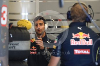 World © Octane Photographic Ltd. Red Bull Racing RB12 – Daniel Ricciardo. Saturday 22nd October 2016, F1 USA Grand Prix Practice 3, Austin, Texas – Circuit of the Americas (COTA). Digital Ref :1745LB1D1632