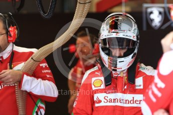 World © Octane Photographic Ltd. Scuderia Ferrari SF16-H – Sebastian Vettel. Saturday 22nd October 2016, F1 USA Grand Prix Practice 3, Austin, Texas – Circuit of the Americas (COTA). Digital Ref :1745LB1D1769