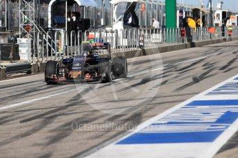 World © Octane Photographic Ltd. Scuderia Toro Rosso STR11 – Carlos Sainz. Saturday 22nd October 2016, F1 USA Grand Prix Practice 3, Austin, Texas – Circuit of the Americas (COTA). Digital Ref :1745LB1D1883