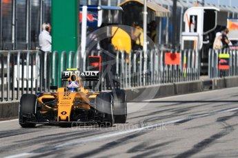 World © Octane Photographic Ltd. Renault Sport F1 Team RS16 – Jolyon Palmer. Saturday 22nd October 2016, F1 USA Grand Prix Practice 3, Austin, Texas – Circuit of the Americas (COTA). Digital Ref :1745LB1D2002