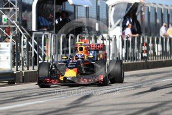 World © Octane Photographic Ltd. Red Bull Racing RB12 – Max Verstappen. Saturday 22nd October 2016, F1 USA Grand Prix Practice 3, Austin, Texas – Circuit of the Americas (COTA). Digital Ref :1745LB1D2088