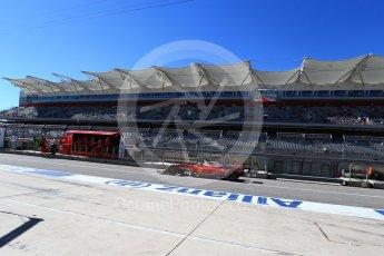 World © Octane Photographic Ltd. Scuderia Ferrari SF16-H – Sebastian Vettel. Saturday 22nd October 2016, F1 USA Grand Prix Practice 3, Austin, Texas – Circuit of the Americas (COTA). Digital Ref :1745LB2D5309