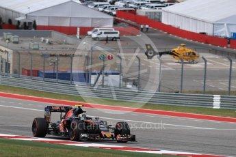 World © Octane Photographic Ltd. Scuderia Toro Rosso STR11 – Carlos Sainz. Sunday 23rd October 2016, F1 USA Grand Prix Race, Austin, Texas – Circuit of the Americas (COTA). Digital Ref :1749LB1D3900