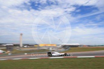 World © Octane Photographic Ltd. Williams Martini Racing, Williams Mercedes FW38 – Valtteri Bottas. Sunday 23rd October 2016, F1 USA Grand Prix Race, Austin, Texas – Circuit of the Americas (COTA). Digital Ref : 1749LB2D5949