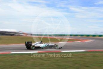 World © Octane Photographic Ltd. Mercedes AMG Petronas W07 Hybrid – Lewis Hamilton. Sunday 23rd October 2016, F1 USA Grand Prix Race, Austin, Texas – Circuit of the Americas (COTA). Digital Ref :1749LB2D5959