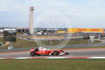 World © Octane Photographic Ltd. Scuderia Ferrari SF16-H – Sebastian Vettel. Sunday 23rd October 2016, F1 USA Grand Prix Race, Austin, Texas – Circuit of the Americas (COTA). Digital Ref : 1749LB2D5965