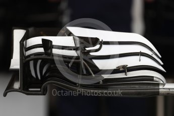 World © Octane Photographic Ltd. Sauber F1 Team C35 front wing. Thursday 20th October 2016, F1 USA Grand Prix, Austin, Texas – Circuit of the Americas (COTA). Digital Ref :