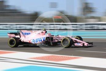 World © Octane Photographic Ltd. Formula 1 - Abu Dhabi Grand Prix - Friday Practice 1. George Russell - Sahara Force India VJM10F1 Reserve Driver. Yas Marina Circuit, Abu Dhabi. Friday 24th November 2017. Digital Ref: