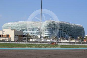 World © Octane Photographic Ltd. Formula 1 - Abu Dhabi Grand Prix - Friday Practice 1. Daniel Ricciardo - Red Bull Racing RB13. Yas Marina Circuit, Abu Dhabi. Friday 24th November 2017. Digital Ref: