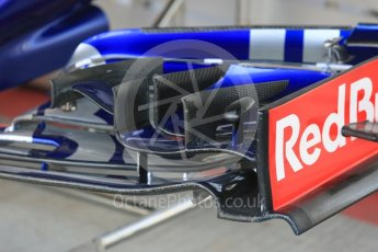 World © Octane Photographic Ltd. Formula 1 - Abu Dhabi Grand Prix - Friday Practice 1. Scuderia Toro Rosso STR12. Yas Marina Circuit, Abu Dhabi. Friday 24th November 2017. Digital Ref: