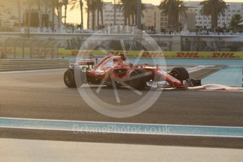 World © Octane Photographic Ltd. Formula 1 - Abu Dhabi Grand Prix - Friday - Practice 2. Kimi Raikkonen - Scuderia Ferrari SF70H. Yas Marina Circuit, Abu Dhabi. Friday 24th November 2017. Digital Ref: 2003CB1L6062