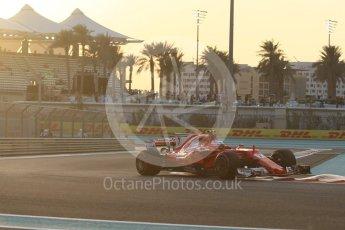 World © Octane Photographic Ltd. Formula 1 - Abu Dhabi Grand Prix - Friday - Practice 2. Kimi Raikkonen - Scuderia Ferrari SF70H. Yas Marina Circuit, Abu Dhabi. Friday 24th November 2017. Digital Ref: 2003CB1L6158