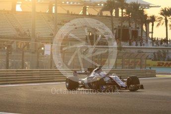 World © Octane Photographic Ltd. Formula 1 - Abu Dhabi Grand Prix - Friday - Practice 2. Marcus Ericsson – Sauber F1 Team C36. Yas Marina Circuit, Abu Dhabi. Friday 24th November 2017. Digital Ref: 2003CB1L6215