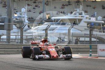 World © Octane Photographic Ltd. Formula 1 - Abu Dhabi Grand Prix - Friday - Practice 2. Kimi Raikkonen - Scuderia Ferrari SF70H. Yas Marina Circuit, Abu Dhabi. Friday 24th November 2017. Digital Ref: