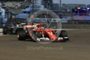 World © Octane Photographic Ltd. Formula 1 - Abu Dhabi Grand Prix - Friday - Practice 2. Kimi Raikkonen - Scuderia Ferrari SF70H. Yas Marina Circuit, Abu Dhabi. Friday 24th November 2017. Digital Ref: 2003CB1L6683