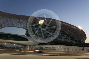 World © Octane Photographic Ltd. Formula 1 - Abu Dhabi Grand Prix - Friday - Practice 2. Brendon Hartley - Scuderia Toro Rosso STR12. Yas Marina Circuit, Abu Dhabi. Friday 24th November 2017. Digital Ref: 2003CB5D0132