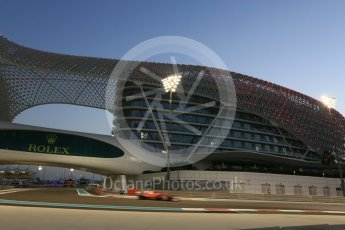 World © Octane Photographic Ltd. Formula 1 - Abu Dhabi Grand Prix - Friday - Practice 2. Sebastian Vettel - Scuderia Ferrari SF70H. Yas Marina Circuit, Abu Dhabi. Friday 24th November 2017. Digital Ref: 2003CB5D0139