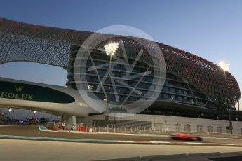 World © Octane Photographic Ltd. Formula 1 - Abu Dhabi Grand Prix - Friday - Practice 2. Sebastian Vettel - Scuderia Ferrari SF70H. Yas Marina Circuit, Abu Dhabi. Friday 24th November 2017. Digital Ref: 2003CB5D0159
