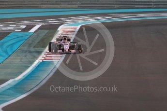World © Octane Photographic Ltd. Formula 1 - Abu Dhabi Grand Prix - Friday - Practice 2. Sergio Perez - Sahara Force India VJM10. Yas Marina Circuit, Abu Dhabi. Friday 24th November 2017. Digital Ref: 2003LB1D3249