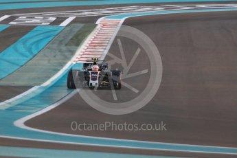 World © Octane Photographic Ltd. Formula 1 - Abu Dhabi Grand Prix - Friday - Practice 2. Kevin Magnussen - Haas F1 Team VF-17. Yas Marina Circuit, Abu Dhabi. Friday 24th November 2017. Digital Ref: 2003LB1D3278