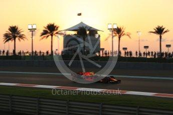 World © Octane Photographic Ltd. Formula 1 - Abu Dhabi Grand Prix - Friday - Practice 2. Max Verstappen - Red Bull Racing RB13. Yas Marina Circuit, Abu Dhabi. Friday 24th November 2017. Digital Ref: 2003LB2D8634