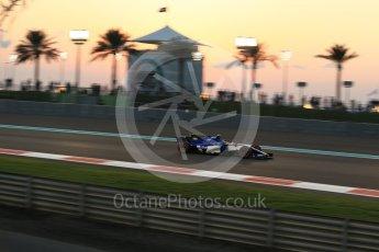 World © Octane Photographic Ltd. Formula 1 - Abu Dhabi Grand Prix - Friday - Practice 2. Pascal Wehrlein – Sauber F1 Team C36. Yas Marina Circuit, Abu Dhabi. Friday 24th November 2017. Digital Ref: 2003LB2D8844