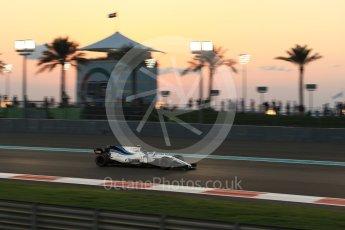 World © Octane Photographic Ltd. Formula 1 - Abu Dhabi Grand Prix - Friday - Practice 2. Lance Stroll - Williams Martini Racing FW40. Yas Marina Circuit, Abu Dhabi. Friday 24th November 2017. Digital Ref: 2003LB2D8895