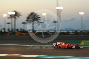 World © Octane Photographic Ltd. Formula 1 - Abu Dhabi Grand Prix - Friday - Practice 2. Kimi Raikkonen - Scuderia Ferrari SF70H. Yas Marina Circuit, Abu Dhabi. Friday 24th November 2017. Digital Ref: 2003LB2D9228