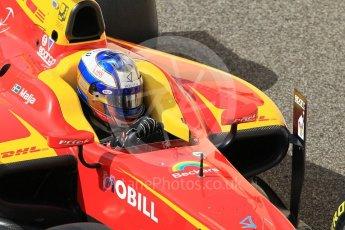 World © Octane Photographic Ltd. FIA Formula 2 (F2) - Practice. Gustav Malja – Racing Engineering. Abu Dhabi Grand Prix, Yas Marina Circuit. 24th November 2017. Digital Ref:2000CB1L5642