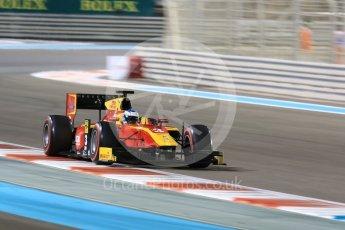World © Octane Photographic Ltd. FIA Formula 2 (F2) - Qualifying. Nyck de Vries – Racing Engineering. Abu Dhabi Grand Prix, Yas Marina Circuit. 24th November 2017. Digital Ref: