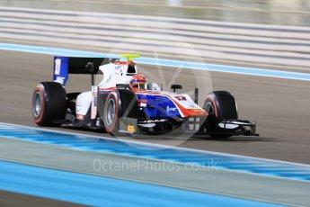 World © Octane Photographic Ltd. FIA Formula 2 (F2) - Qualifying. Santino Ferrucci – Trident. Abu Dhabi Grand Prix, Yas Marina Circuit. 24th November 2017. Digital Ref: